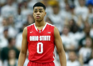 Ohio State shooting guard D'Angelo Russell appears to be a younger version of Houston Rockets superstar James Harden.