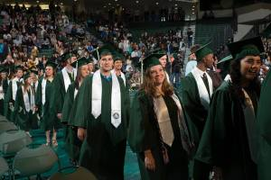 David graduated from Binghamton University on Sunday morning.