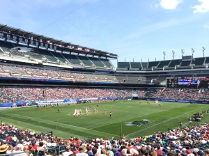 Lincoln Financial Field played host to the NCAA Division 1 Lacrosse Championship on Monday. (Photo by Sean M. Gates)