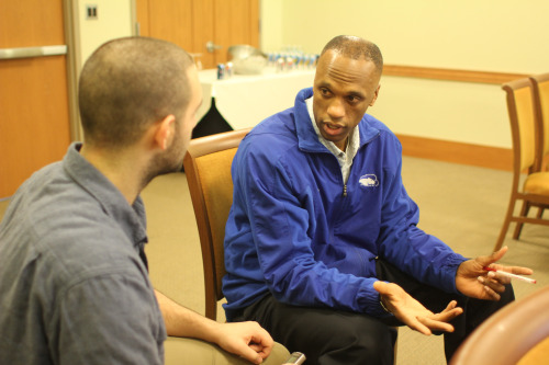Current DePaul assistant Pat Sellers took the time to answer my questions on a variety of basketball topics.