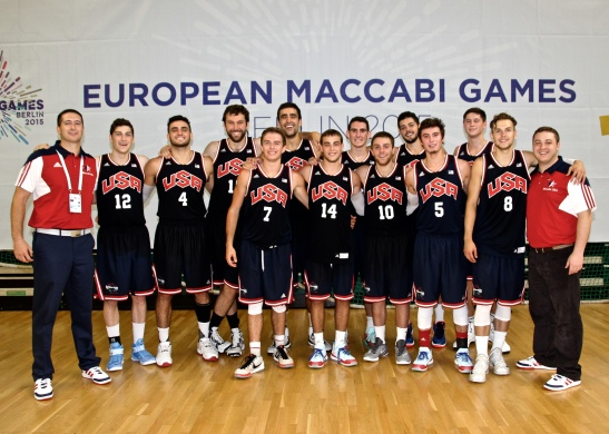 Representing Team USA at the European Maccabi Games in Berlin, Germany was a magical and unforgettable experience.