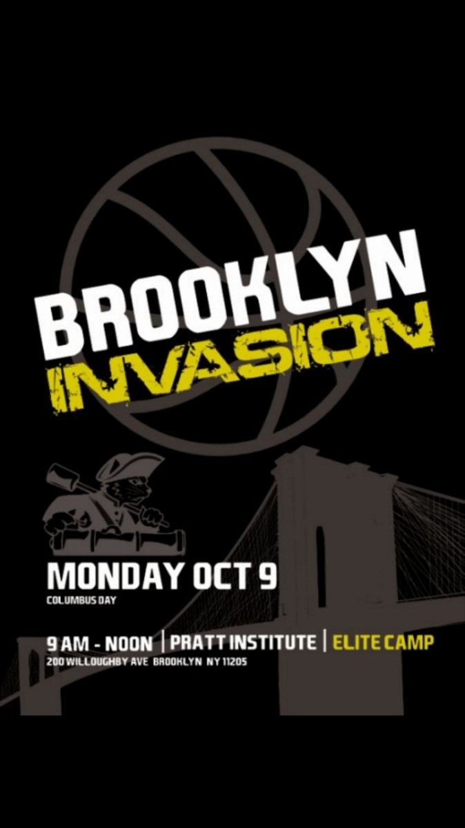 Brooklyn Invasion Elite Camp presented by Pratt and Wesleyan Men's Basketball